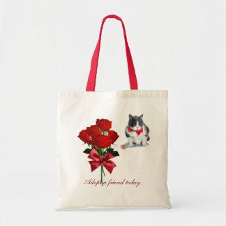 Sac fourre-tout :  Felix, le chat, la Saint-Valentin