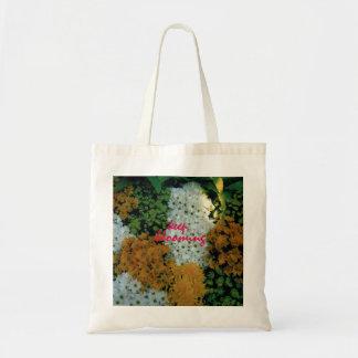 Sac fourre-tout : Floral/continuez la floraison