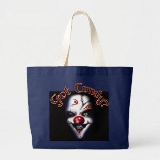 sac fourre-tout gothique à clown de Halloween