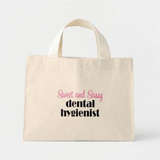 Sac fourre-tout impertinent à hygiéniste dentaire