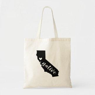 Sac fourre-tout indigène à état de la Californie
