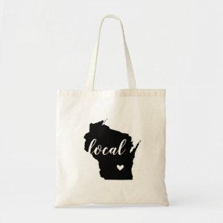 Sac fourre-tout local à état du Wisconsin
