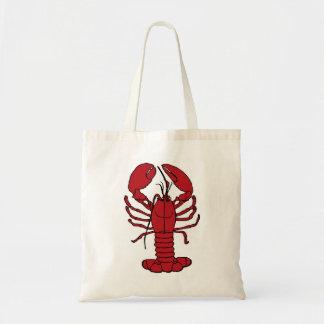 Sac fourre-tout nautique à plage de homard mignon