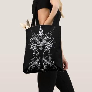 Sac fourre-tout occulte à Goth d'art de Baphomet