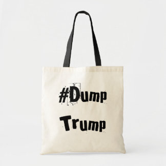 Sac fourre-tout officiel à #DumpTrump (naturel)