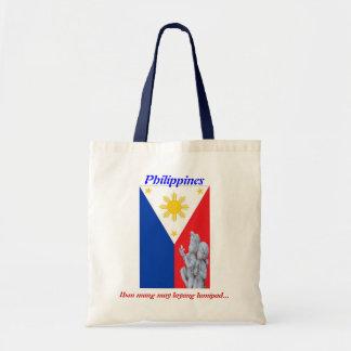 Sac fourre-tout patriotique philippin