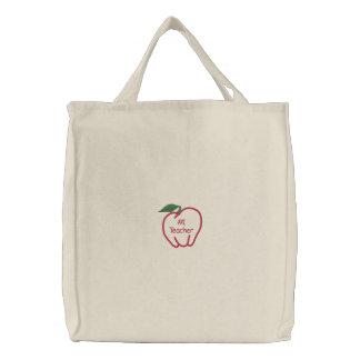 Sac fourre-tout personnalisable à Apple - cadeau Sacs Brodés