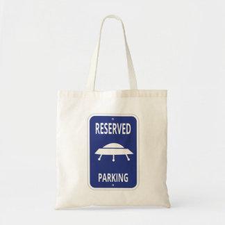 Sac fourre-tout réservé à stationnement