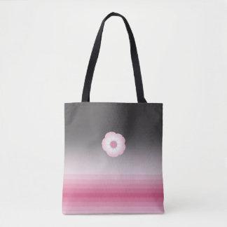 sac fourre-tout rose à moonflower de Luna