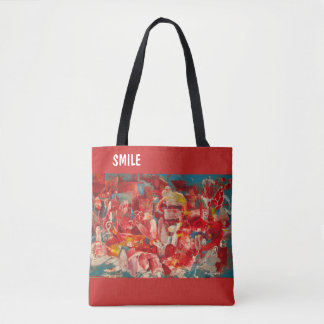 "sac fourre-tout rouge ""rouge """