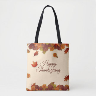 Sac fourre-tout simple au thanksgiving | de