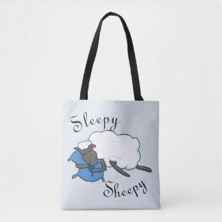 Sac fourre-tout somnolent à Sheepy