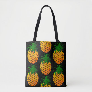 Sac fourre-tout tout imprimé Ananas