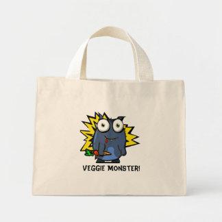 Sac fourre-tout végétarien à monstre