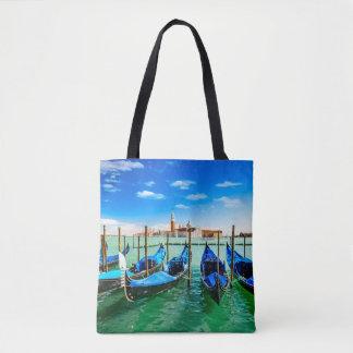 Sac fourre-tout Venise à impression de sac de