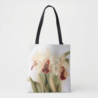 Sac fourre-tout vintage à orchidée de dowiana de