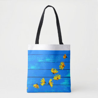 sac fröhlich-sommerliche dans bleu et jaune