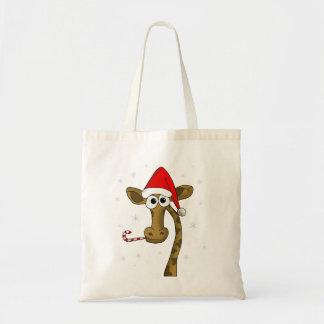 Sac Girafe de Noël
