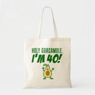 Sac Guacamole saint je suis avocat de 40 bandes