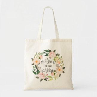 Sac Guirlande florale, mère du marié, Calligraphy-2