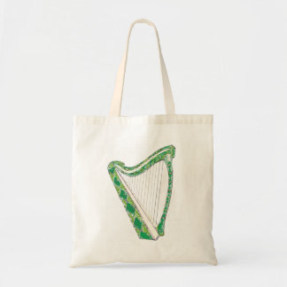 Sac Harpe irlandaise Fourre-tout personnalisable