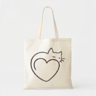 Sac « Heart Cat ""