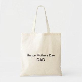 Sac heureux de papa de jour de mères