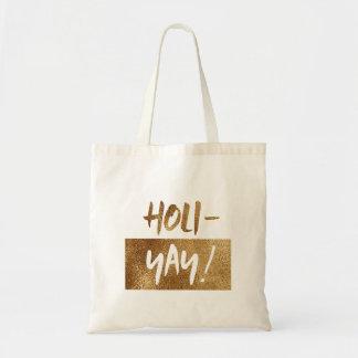 Sac HOLI-YAY ! Vacances de typographie d'amusement
