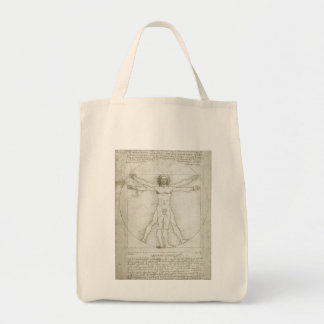 Sac Homme de Vitruvian par Leonardo da Vinci