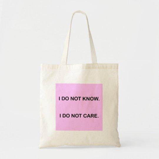 SAC I DO NOT KNOW. I DO NOT CARE.