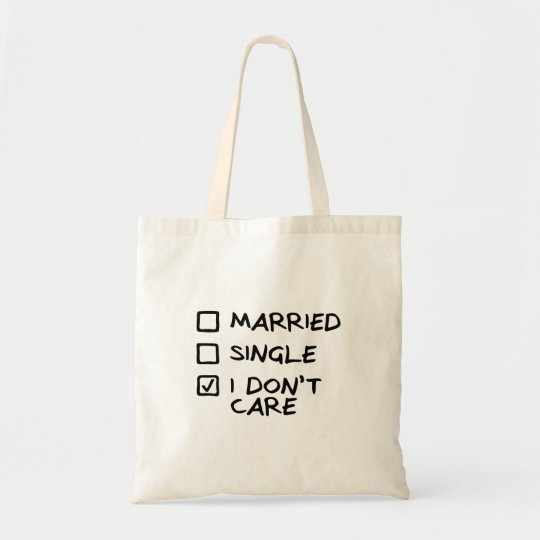 "Sac ""I don't care"" (Je m'en fous)"