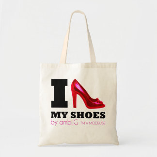 sac i love my shoes design by ambi.G