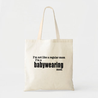 """Sac I """" m une maman de Babywearing - Fourre-tout"""