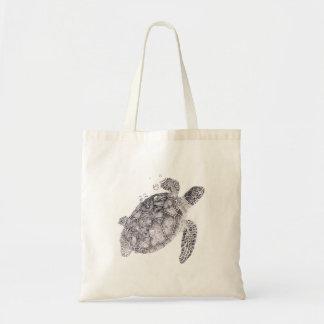 Sac Idée nautique de cadeau, tortue de mer Fourre-tout