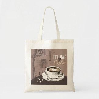Sac Il est temps pour le café