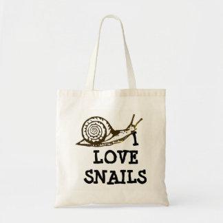 Sac J'aime des escargots