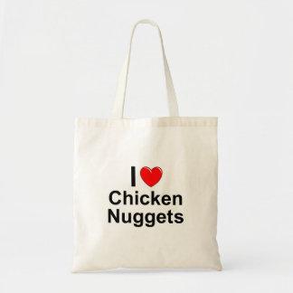 Sac J'aime des pépites de poulet de coeur