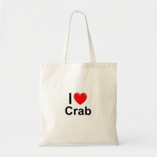 Sac J'aime le crabe de coeur