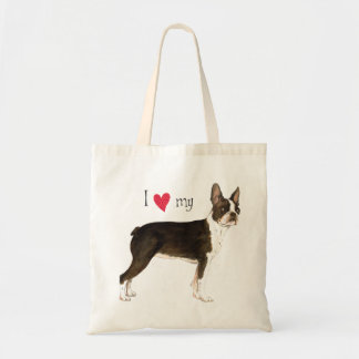 Sac J'aime mon Boston Terrier