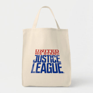 Sac La ligue de justice   nous a unis se tiennent