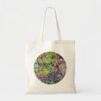 Sac Le jardin d'iris chez Giverny par Claude Monet