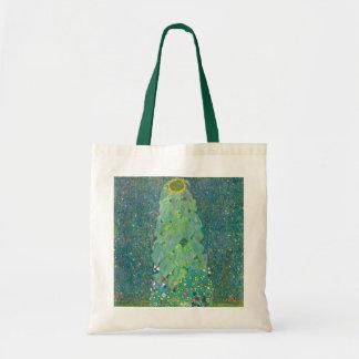 Sac Le tournesol par Klimt, cru fleurit l'art Nouveau
