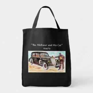 """Sac Le truand et ses années 1940 de voiture - """"équipez"""