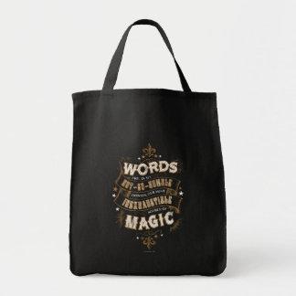 Sac Les mots du charme | de Harry Potter sont notre la