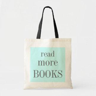 Sac Lisez plus de livres