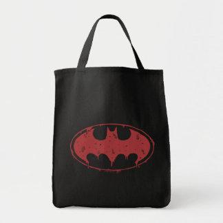 Sac Logo de suintement de batte rouge de Batman |