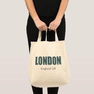 Sac Londres, Angleterre R-U (typographie)