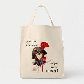 Sac Madame Pirate Grocery Fourre-tout
