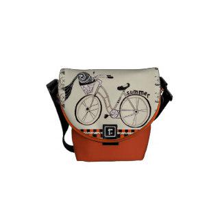 Sac messenger à bicyclette sacoche