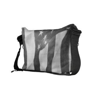 Sac messenger à drapeau américain sacoche